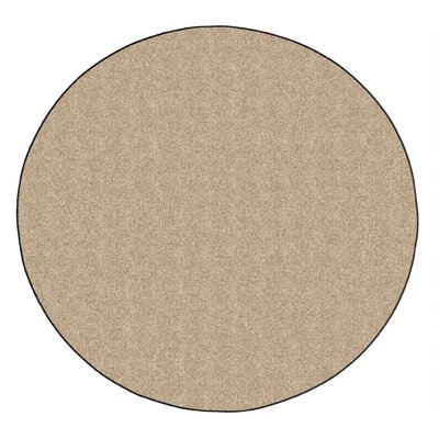 Americolors Almond Area Rug Rug Size: Round 6