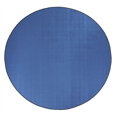Americolors Blue Bird Area Rug Rug Size: Round 6