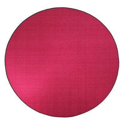 Americolors Cranberry Area Rug Rug Size: Round 12