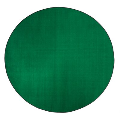 Americolors Clover Green Area Rug Rug Size: Round 12