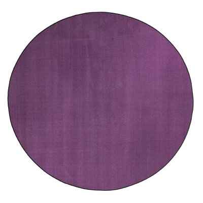 Americolors Pretty Purple Area Rug Rug Size: Round 12