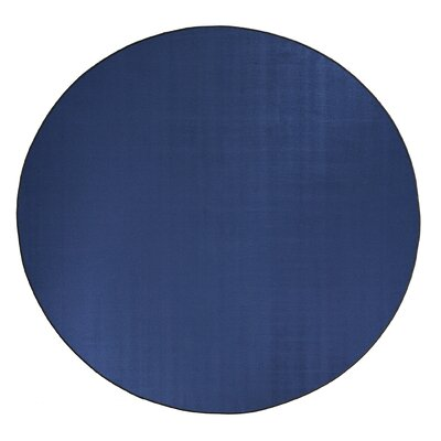 Americolors Royal Blue Area Rug Rug Size: Round 12