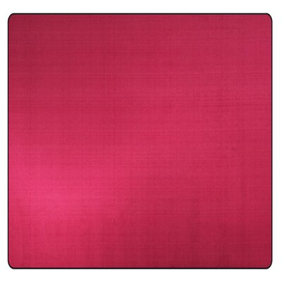 Americolors Cranberry Area Rug Rug Size: Square 12
