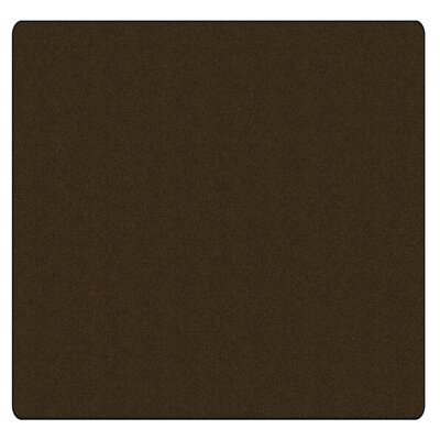 Americolors Chocolate Area Rug Rug Size: Square 6