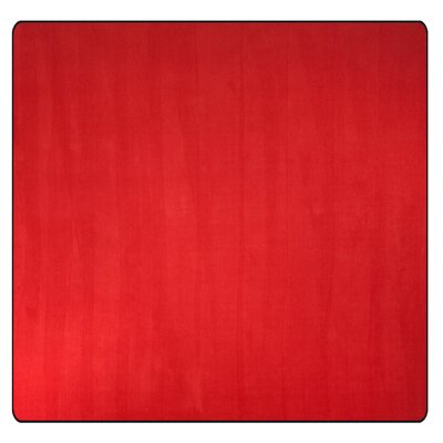 Americolors Rowdy Red Area Rug Rug Size: Square 12