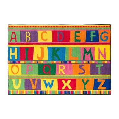 ABC Tapestry Kids Rug Rug Size: 4 x 6