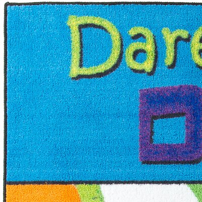 Dare to Dream Kids Rug Rug Size: 4 x 6