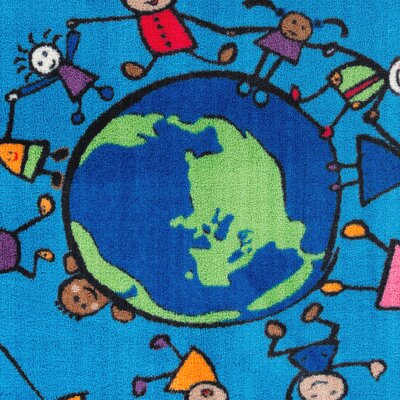 Happy World Kids Rug Rug Size: 4 x 6