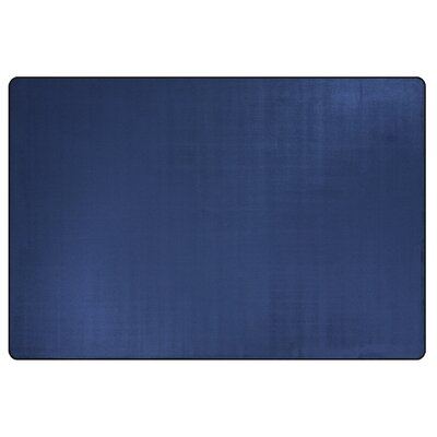 Americolors Royal Blue Area Rug Rug Size: Rectangle 6 x 9