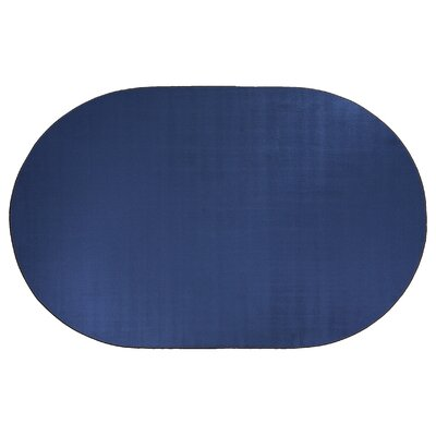 Americolors Royal Blue Area Rug Rug Size: Oval 6 x 9