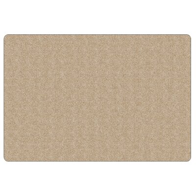 Americolors Almond Area Rug Rug Size: Rectangle 6 x 9