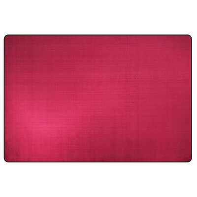Americolors Cranberry Area Rug Rug Size: Rectangle 12 x 18