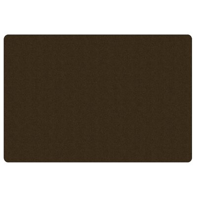 Americolors Chocolate Area Rug Rug Size: Rectangle 76 x 12