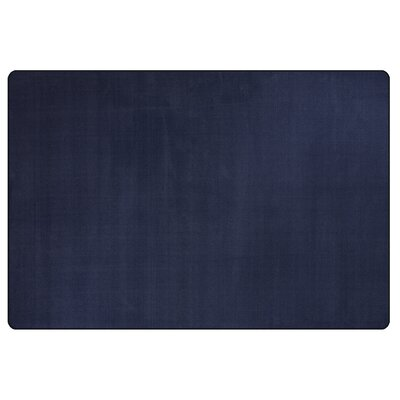 Americolors Navy Area Rug Rug Size: Rectangle 4 x 6