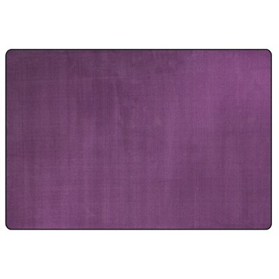 Americolors Pretty Purple Area Rug Rug Size: Rectangle 12 x 18