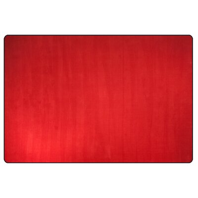 Americolors Rowdy Red Area Rug Rug Size: Rectangle 6 x 9