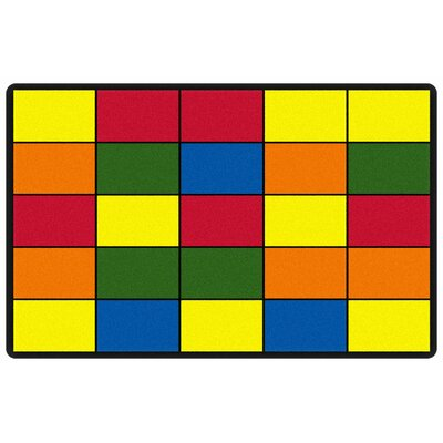 Educational Grid Area Rug Rug Size: Runner 3 x 8