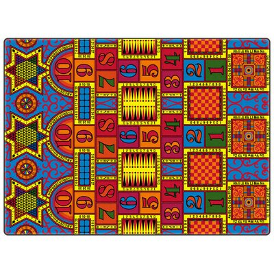 Educational Games That Teach Area Rug Rug Size: Rectangle 12 x 18