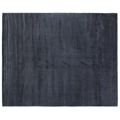 Oxford Navy Area Rug Rug Size: 12 x 15