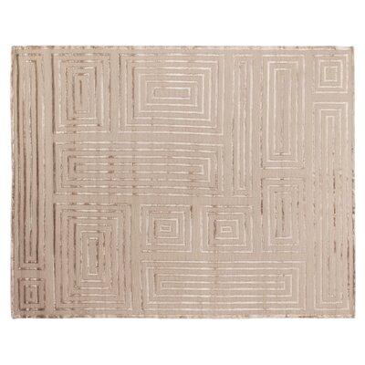 Moreno Beige Area Rug Rug Size: 4 x 6