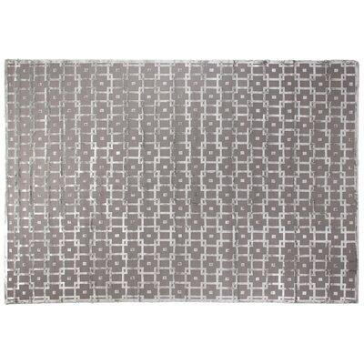 Moreno Gray/Silver Area Rug Rug Size: 10 x 14