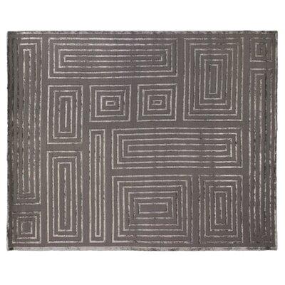 Moreno Charcoal Area Rug Rug Size: 9 x 12