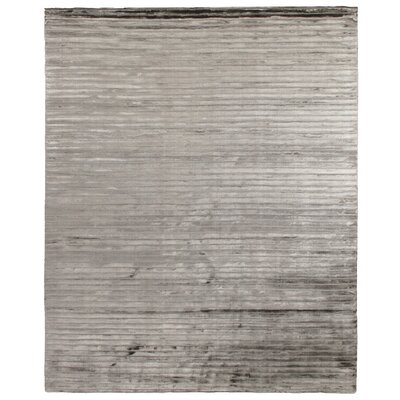 Wave Dark Gray Area Rug Rug Size: 6 x 9