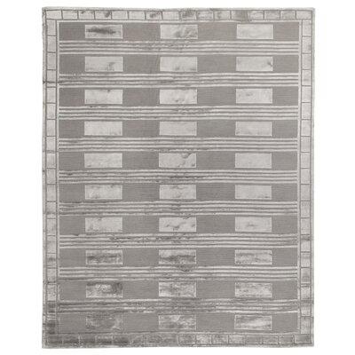 Olson Silver Area Rug Rug Size: 6 x 9