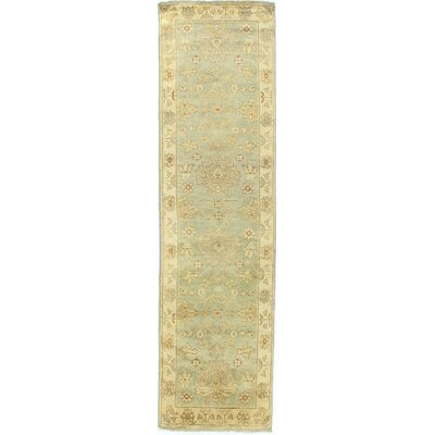 Oushak Hand-Knotted Wool Gray/Ivory Area Rug