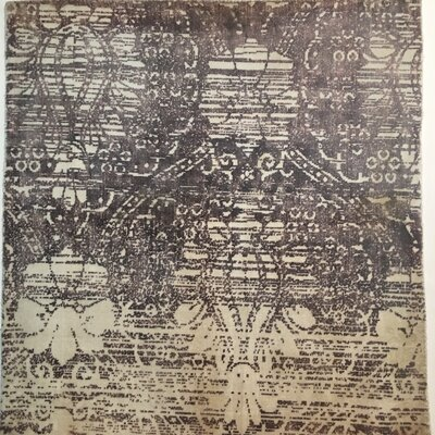 Koda Hand-Knotted Purple Area Rug