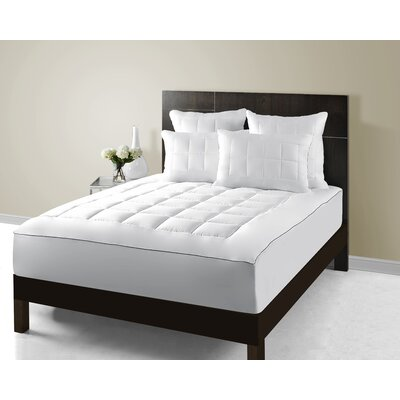 Ultra Plush Luxury 300 Thread Count Pillow Top Mattress Pad Size: Queen