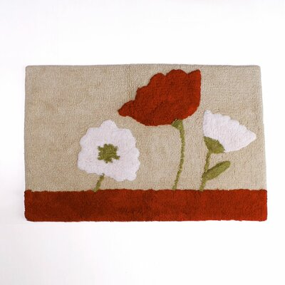 Poppy Field Bath Rug