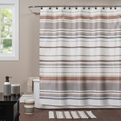 Colorware Stripe Shower Curtain