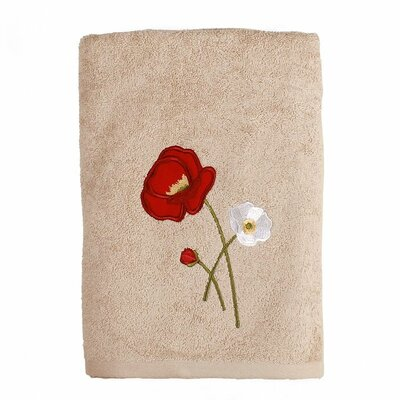 Poppy Field Bath Towel