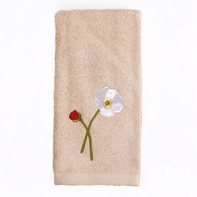 Poppy Field Fingertip Towel