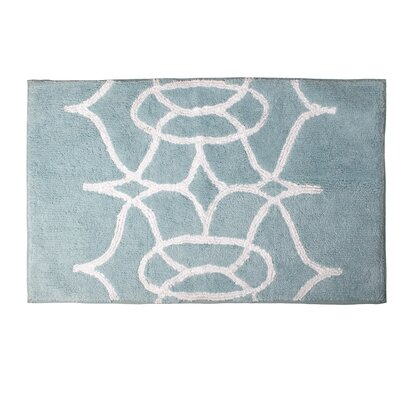 Watercolor Lattice Rug