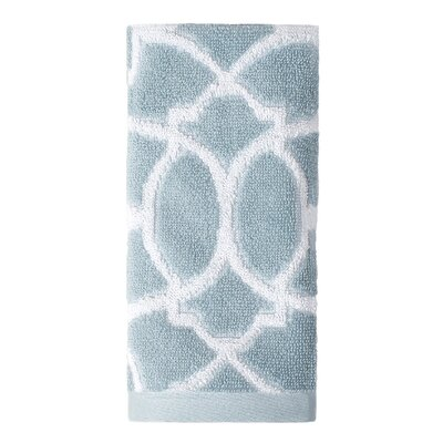 Watercolor Lattice Tip Towel