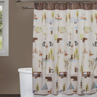 Camping Critters Shower Curtain