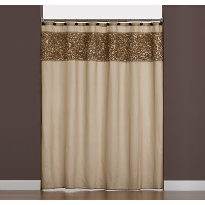Ruffle Border Shower Curtain