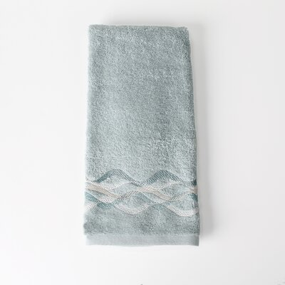 Sketchbook Waves Hand Towel Color: Teal
