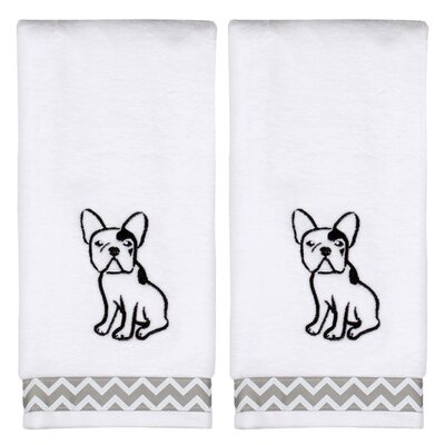 Caballero Soft White Cotton Hand Towel