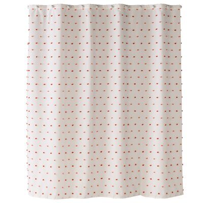 Alvaro Colorful Dot Shower Curtain