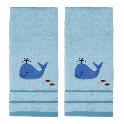 Mayesville Whale and Friends Hand Towel