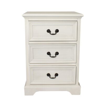 Urban 3 Drawer Nightstand