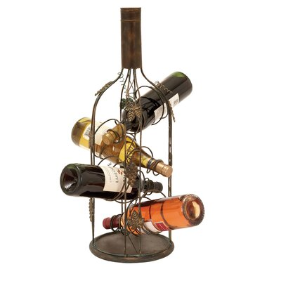 Urban 4 Bottle Tabletop Wine Rack