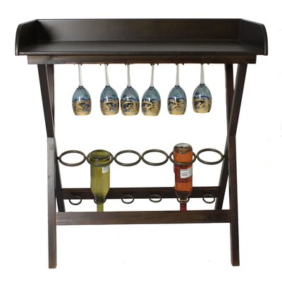Urban 6 Bottle Floor Wine Rack