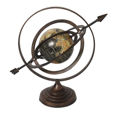 Armillary Sphere World Globe