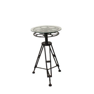 Urban Hollywood Film Reel End Table