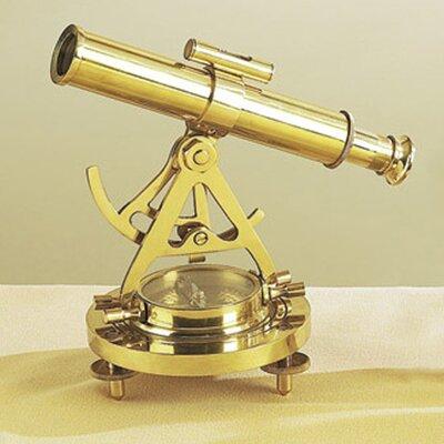 Decorative Replica Tabletop Telescope and Compass