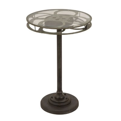 Urban Designs Holllywood Film Reel End Table 7715615